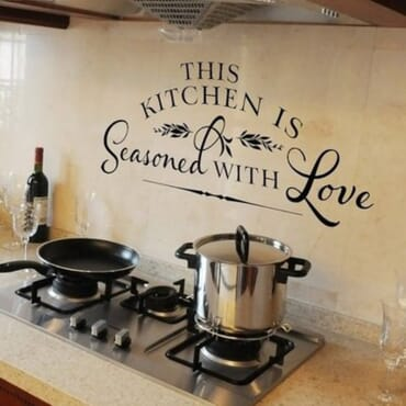 This Kitchen Is Seasoned With Love DN013