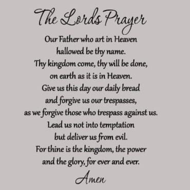 The Lords Prayer DN004