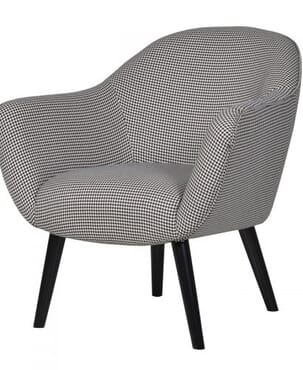 Grey H Tooth Chair