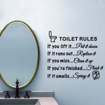 Toilet Rules DN060
