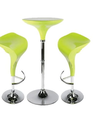Swan Bar Lime Green