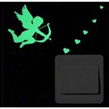 Cupid - Luminous - Glow in the dark wall decal SC04