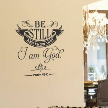 Be Still And Know That I Am God DN034