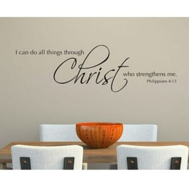 I Can Do All Things With Christ Who Strengthens Me DN006