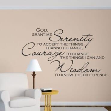 God Grant Me Serenity DN029