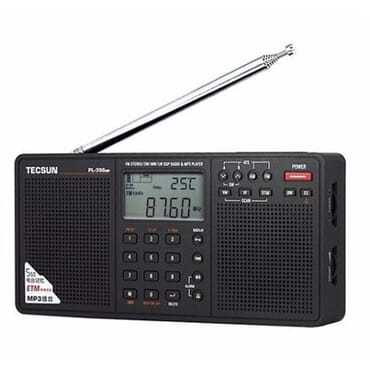 Digital AM/FM/LW Shortwave Radio with Dual Speakers & MP3 Player