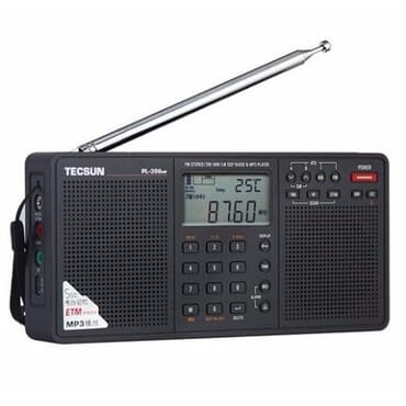 Digital AM/FM/LW Shortwave Radio with Dual Speakers & MP3 Player