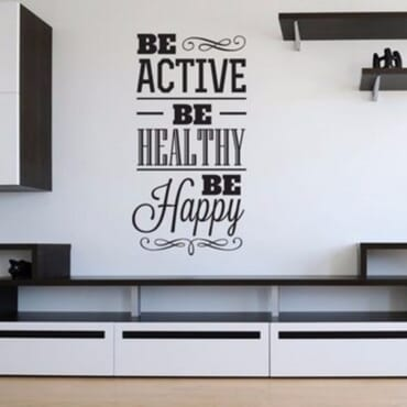 Be Active And Be Healthy DN078