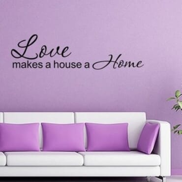 Love Makes A House A Home DN019