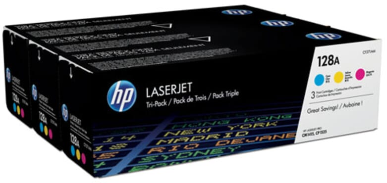 HP Laserjet Toner 128A Colour