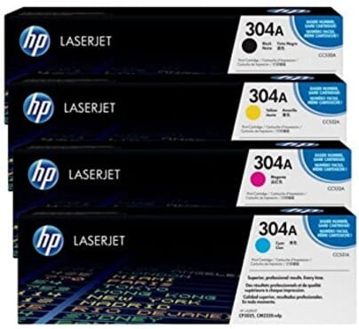 HP Laserjet Toner 304A Colour