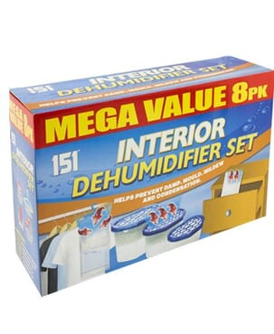 Interior Dehumidifier Mega Value Pack
