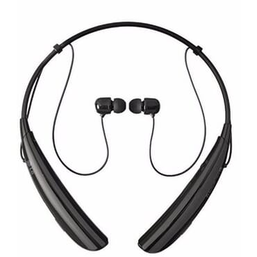 LG Tone Pro HBS-750 Bluetooth Wireless Stereo Headset - Black