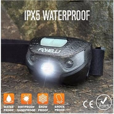 Headlamp Flashlight - USB Rechargeable - Up To 30 Hours