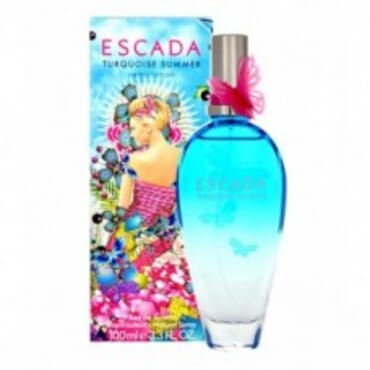 ESCADA TURQUOISE SUMMER L/E EDT 100ML,Perfume,