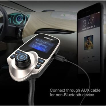 Wireless Bluetooth LED FM Transmitter