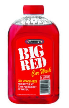 WYNNS BIG RED CAR WASH 1 LITTER