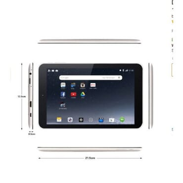 Dragon Touch M8 2016 Edition 8 Inch Quad Core Tablet + Leather Cover Case - 16GB