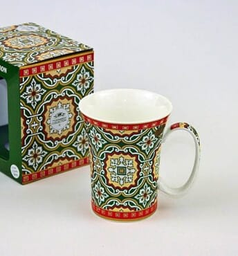 Mosaic Trumpet Mug
