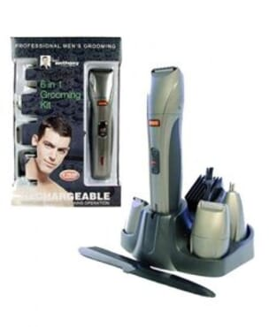 Paul Anthony Mens 6 IN 1 Grooming Kit