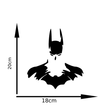 Batman car sticker decal CR03
