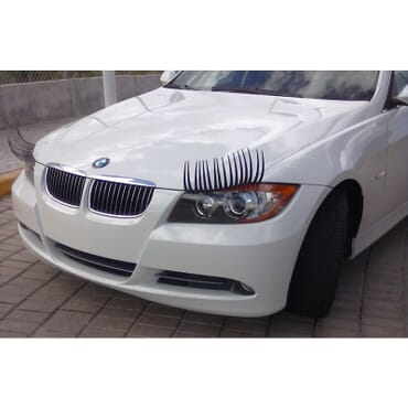 Fancy Car Eye Lashes LS001