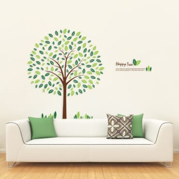 Happy Tree Wall Decal WD002