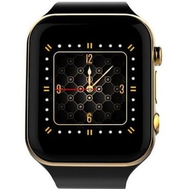 Scinex Unisex SW20 16GB Bluetooth Smart Watch GSM Phone - Gold & Black