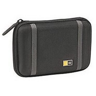 Case Logic PHDC-1 Compact Portable Hard Drive Case - Black