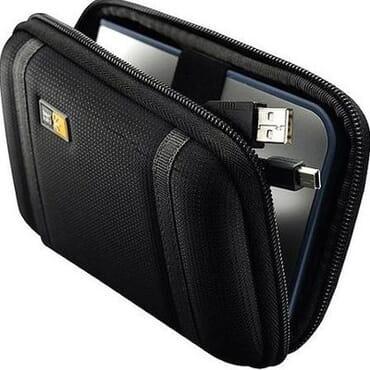 Case Logic PHDC-1 Compact Portable Hard Drive Case - Black