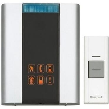 Honeywell Premium Portable Wireless Doorbell with with wireless Motion Detector + 2 xtra push button