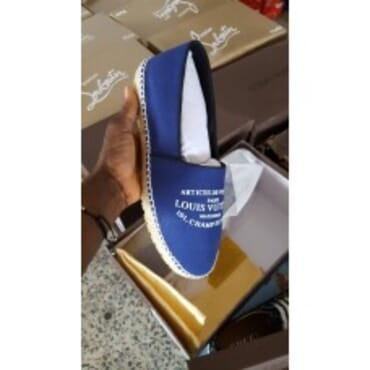 Lv Champion Sole ,Mens Slip-On,-Blue