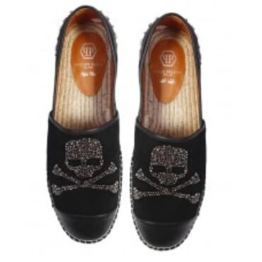 Philipp Plein - Rope-Soled Sandals With Rhinestones,Mens Shoes,