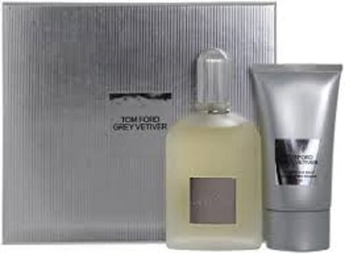 TOM FORD GREY VETIVER EDP 50ML / AFTER SHAVE BALM 75ML
