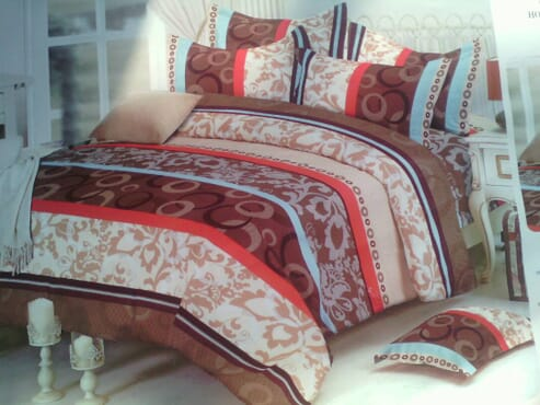 Exclusive Bedsheet with Duvet and 4 Pillow Cases