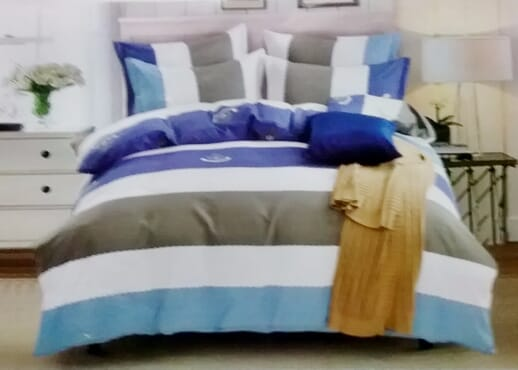 Beautiful Bed sheet with Duvet and 2 Pillow Cases