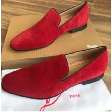 Dandelion Flat -Red,Mens Shoe