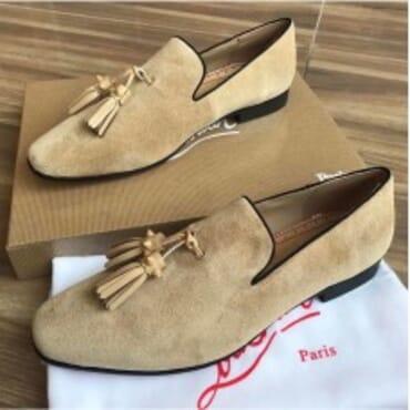 Dandelion Flat-Beige,Mens Shoe