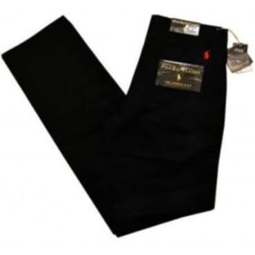 Classic-Fit ,Cotton Chino,-Black