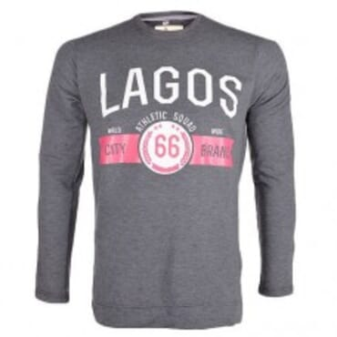 Grey Lagos Brand ,Sweatshirts,