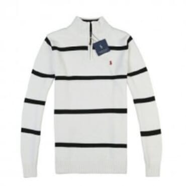 Polo By Raulp lauren PullOver-White