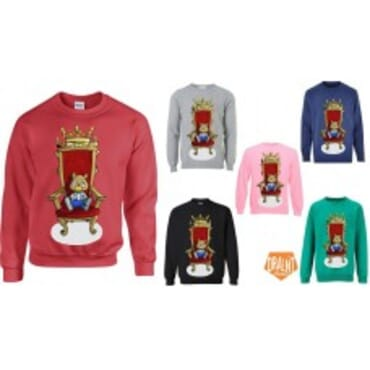 Ted on the Throne Sweatshirts