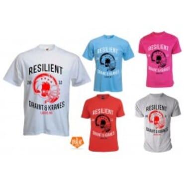 Resilient ,Tshirts, Brand