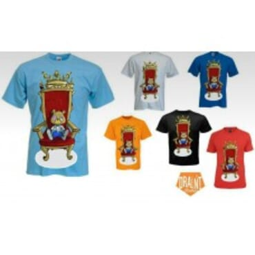 Ted on the Throne Tshirts