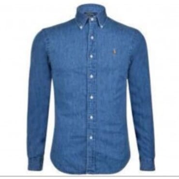 Denim Sport Shirt