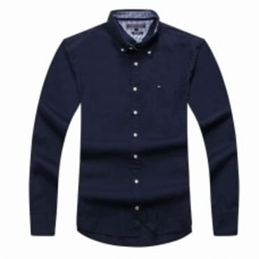 TOMMY HILFIGER LONG SLEEVE NAVYBLUE