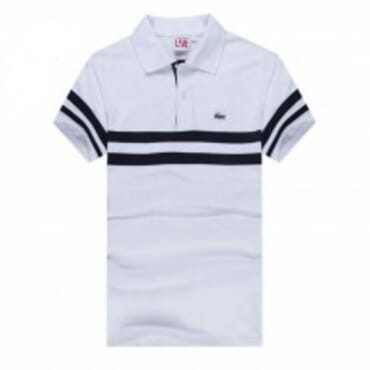 BLACK STRIPPED|WHITE,POLO,