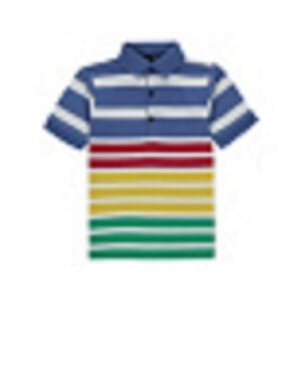 STRIPE POLO SHIRT BY   GEORGE UK
