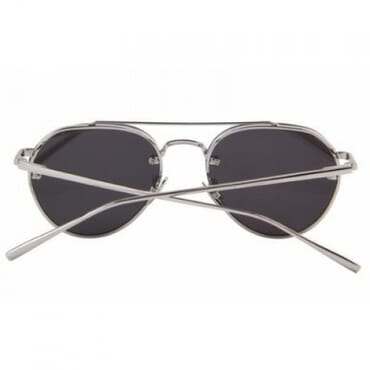 Colorful Integrated Sunglasses - Silver