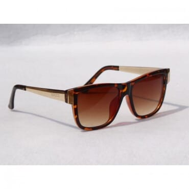 GUCCI DESIGNER SUNGLASSES,WITH GOLD FRAME